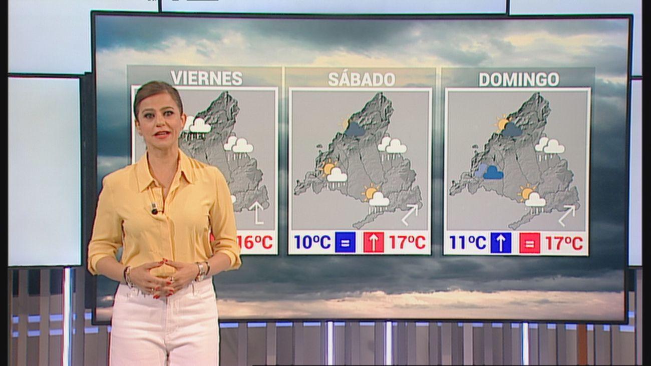 Fin de semana en Madrid con paraguas y más abrigo