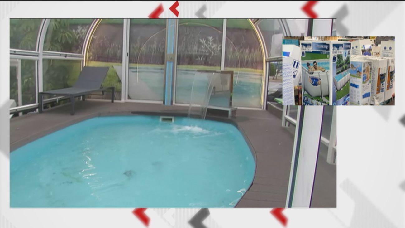 Vuelve a dispararse la venta de piscinas de cara a otro verano marcado por el coronavirus
