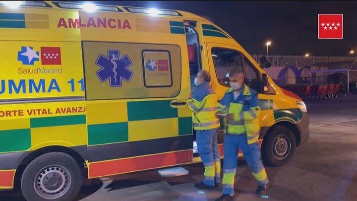 Dos trabajadores, heridos graves tras la explosión de un cuadro eléctrico en Fuenlabrada