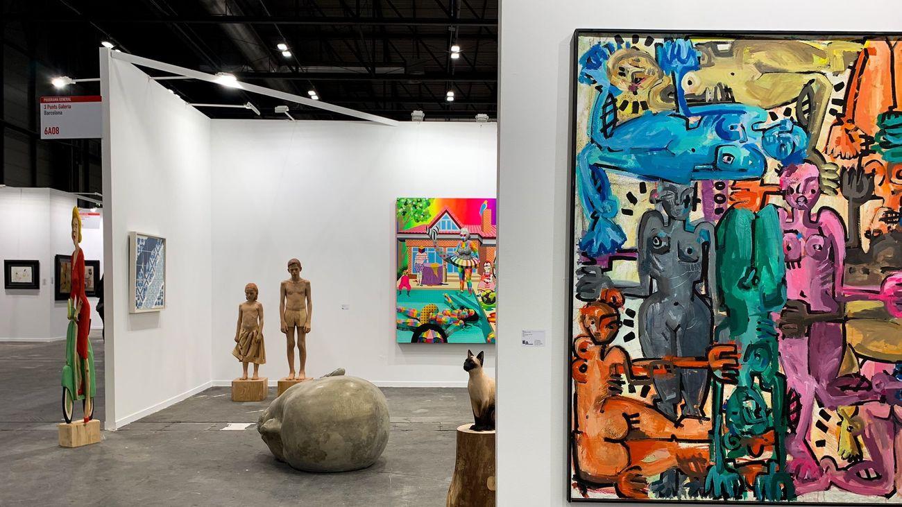Estampa reúne el arte internacional en IFEMA