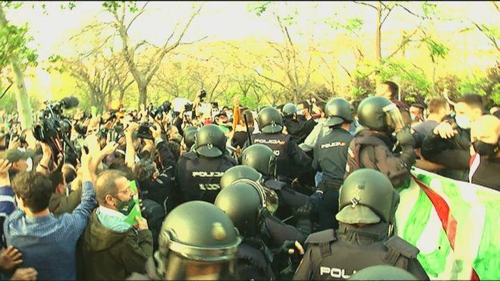 Radiografía del día después de los disturbios de Vallecas por el mitin de Vox