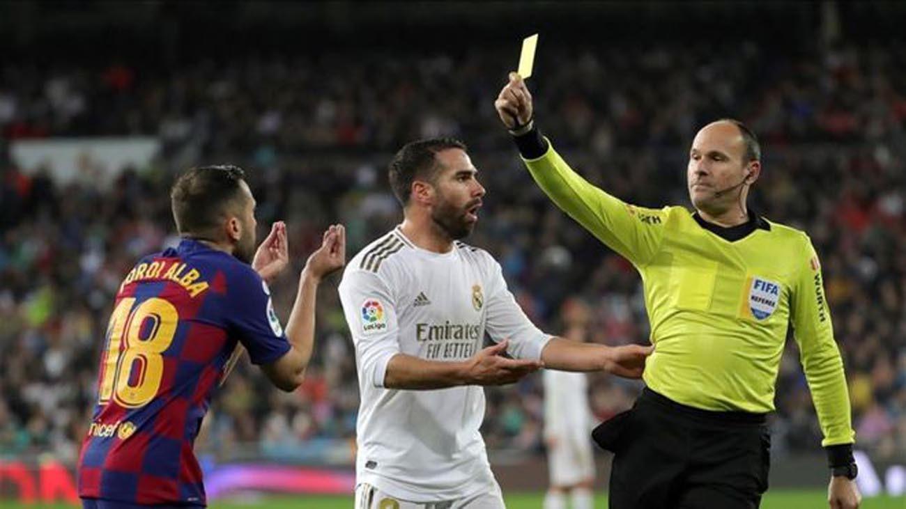 Mateu Lahoz se lesiona, Gil Manzano arbitrará el clásico