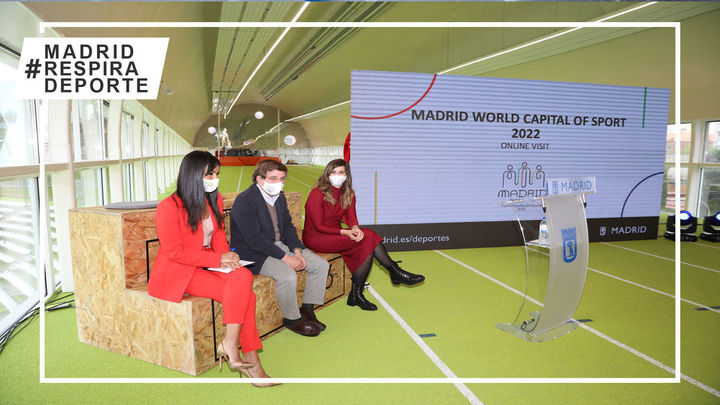 Madrid defiende su candidatura para ser Capital Mundial del Deporte 2022