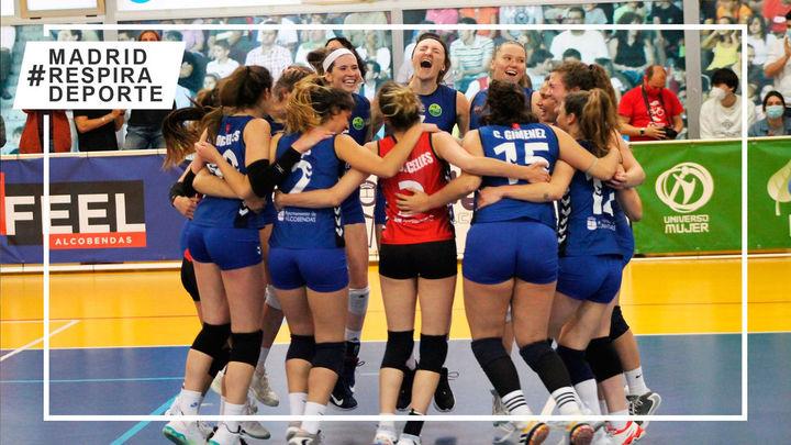 Voleibol Alcobendas inicia el camino al título de la Superliga Femenina