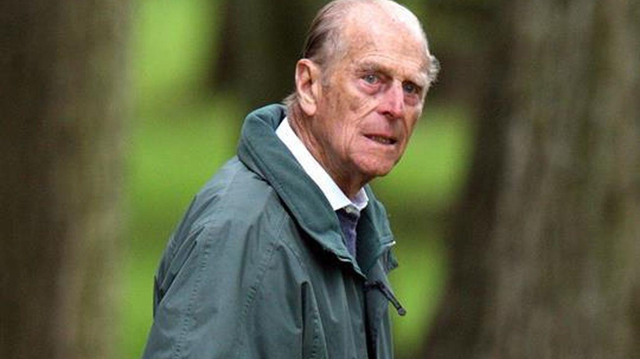 El príncipe Felipe, marido de la reina de Isabel II