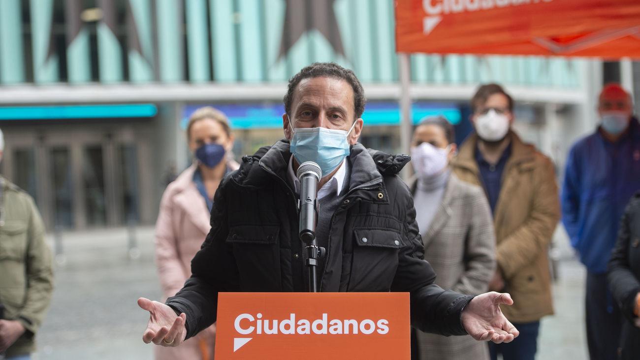 Edmundo Bal, candidato de Ciudadanos a la Presidencia de la Comunidad
