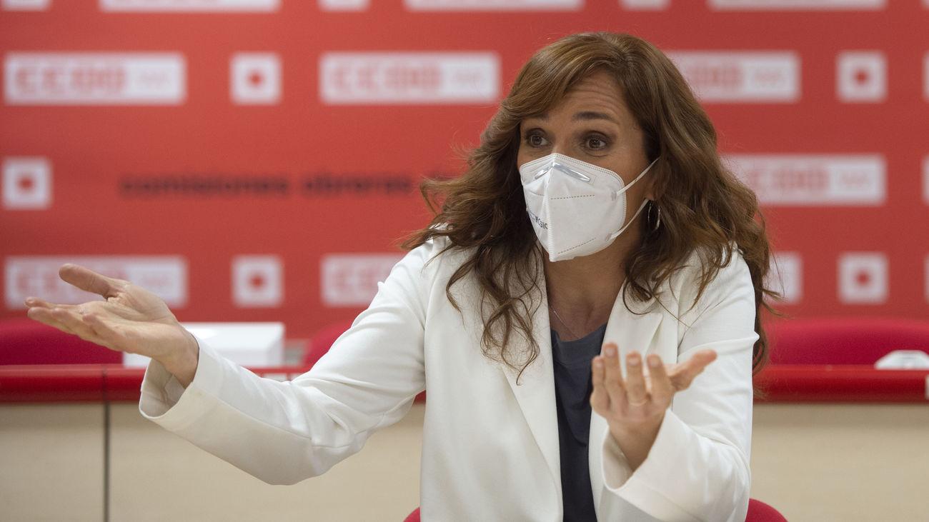 Mónica García, candidata de Más Madrid a la Presidencia de la Comunidad