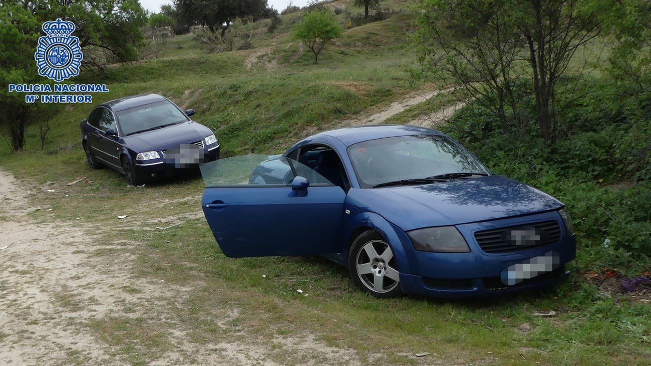 Dos coches robados por 'el Ruso'