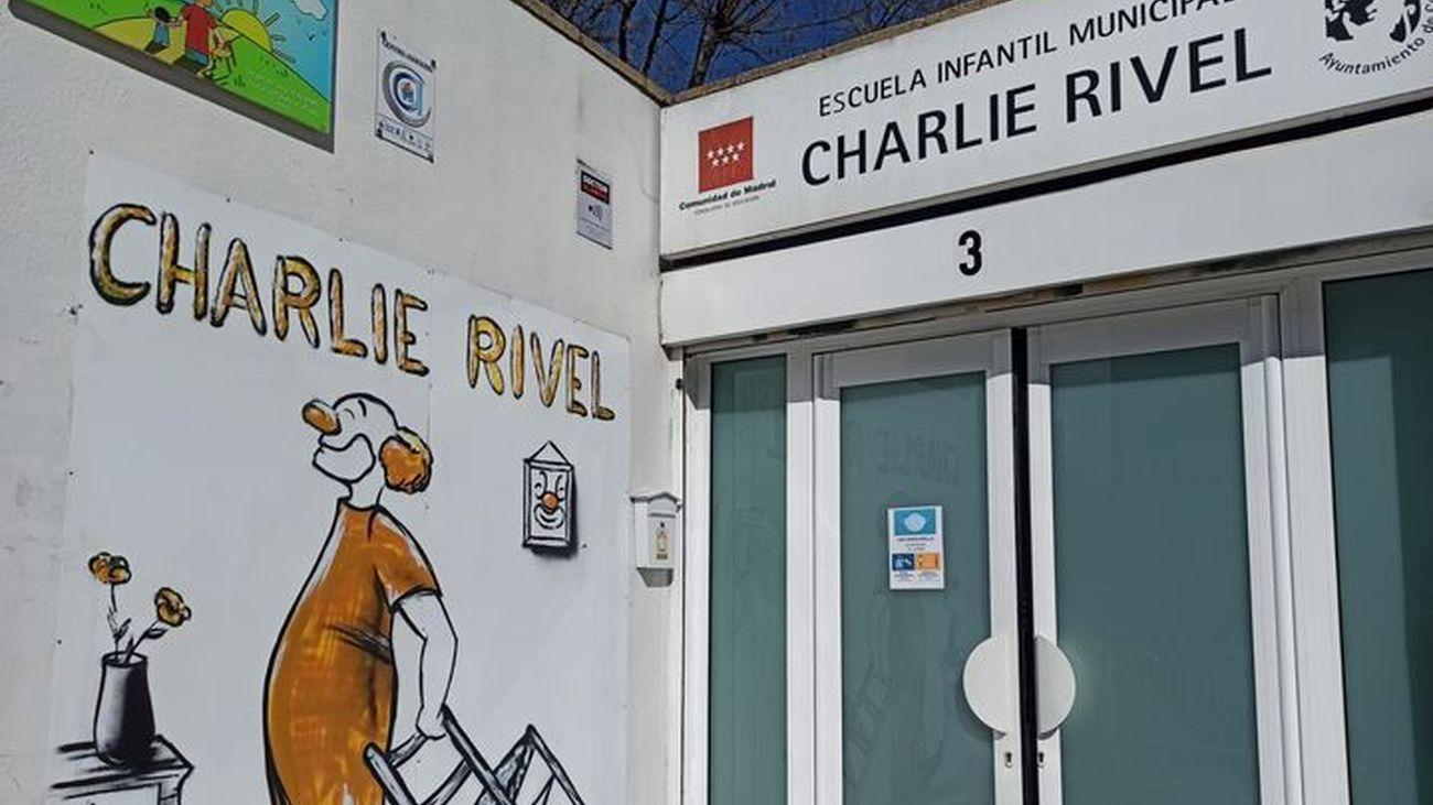 Edificio de la escuela infantil de Coslada 'Chralie Rivel'