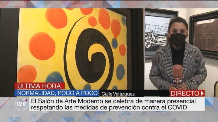 El Salón de Arte Moderno se celebra de forma presencial en Madrid respetando las medidas Covid