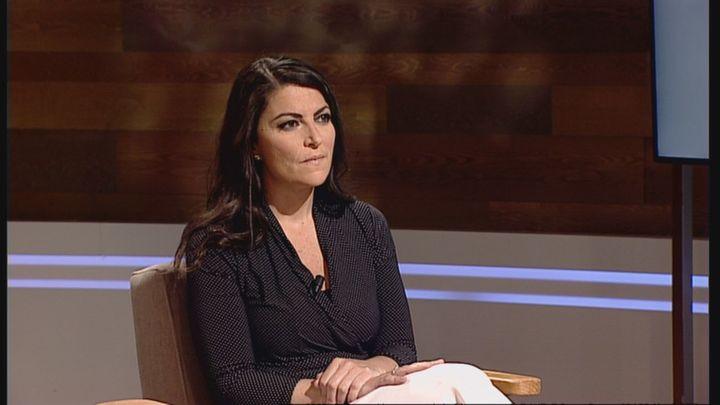 """Macarena Olona (Vox): """"Estoy con un sentimiento de alivio porque no hubo víctimas mortales en Vallecas"""""""