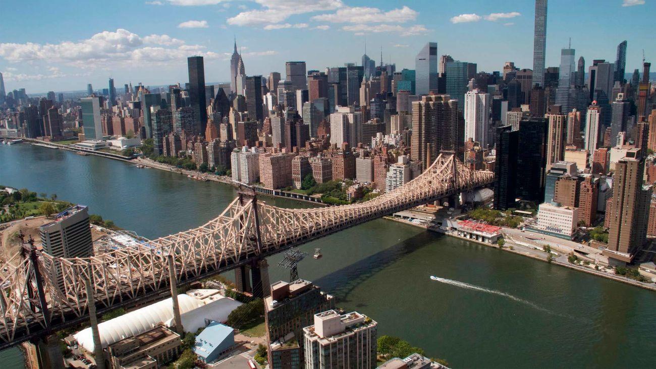 Escena del documental 'América desde el aire: Nueva York'