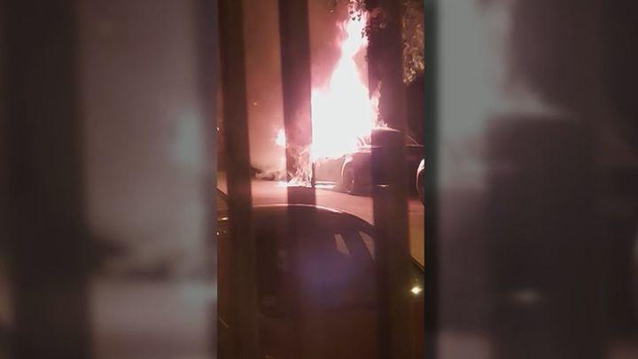 Robos, peleas y coches calcinados en Torrejón de la Calzada