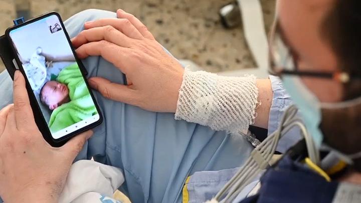 Un trasplante de corazón y el nacimiento de su hijo: todo a la vez para Antonio en el Gregorio Marañón
