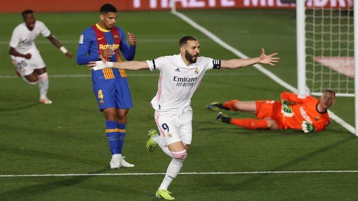 2-1. El Real Madrid sale líder de un gran clásico