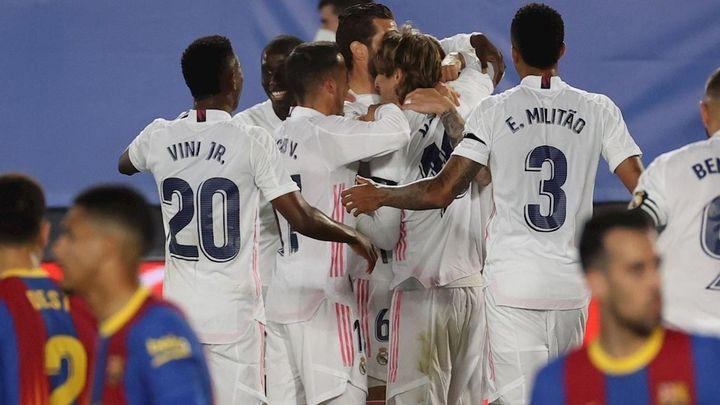 El Real Madrid ganó siete ligas en la última jornada; nunca llegando segundo