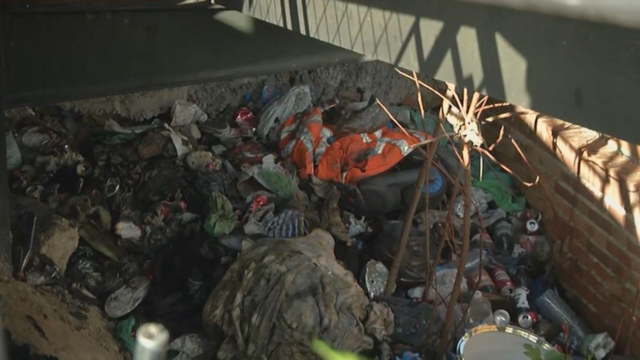 Encuentran el cuerpo calcinado de un hombre en Alcorcón