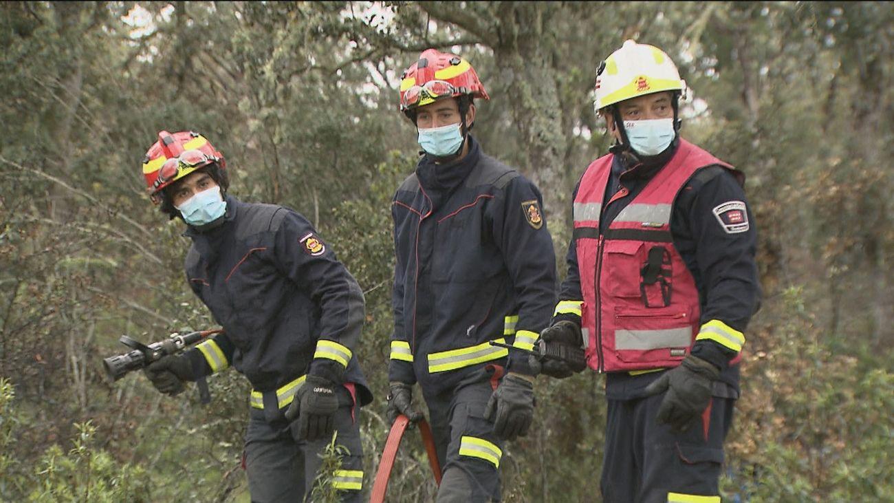 Los bomberos de la Comunidad de Madrid se preparan para la lucha contra los incendios forestales