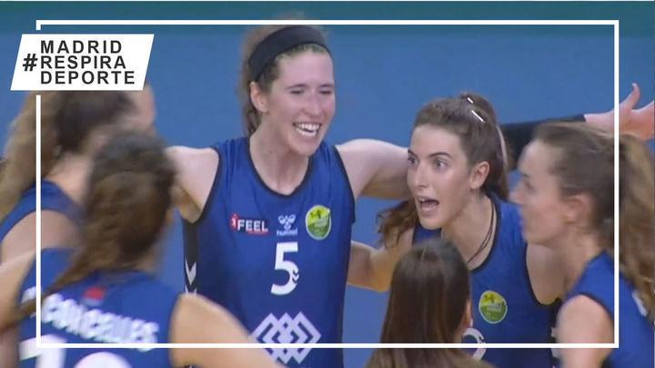 Voleibol Alcobendas se impone al CV CCO 7 Palmas en el segundo choque de la final por el título