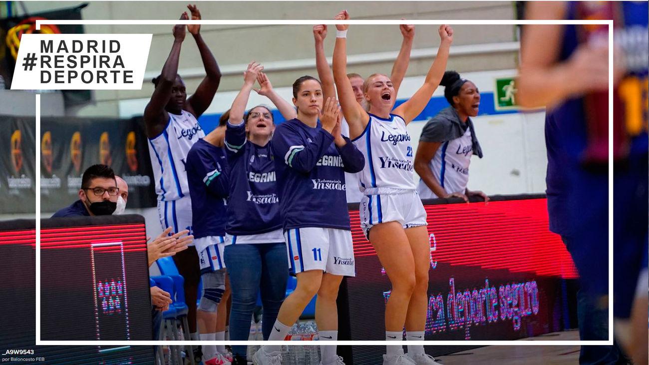 La temporada perfecta del Baloncesto Leganés