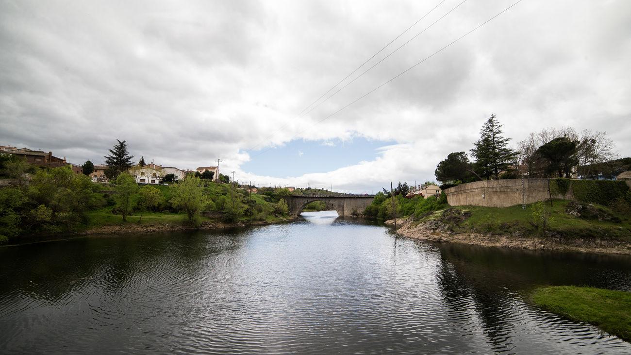 Curso del río Lozoya