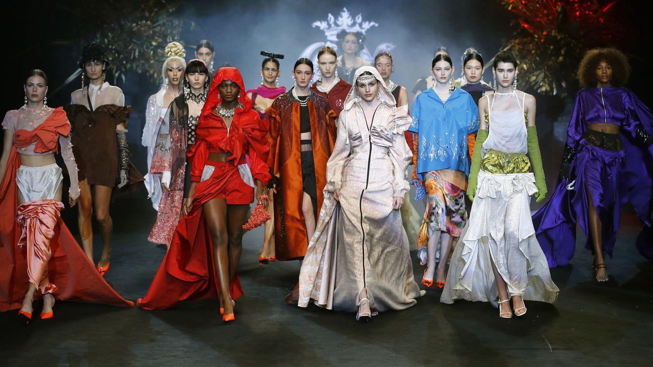 Los jóvenes diseñadores, protagonistas de esta jornada de la Mercedes Benz Fashion Week