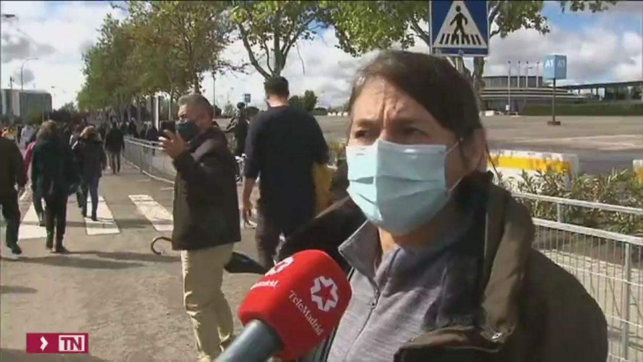 Peruanos y ecuatorianos votan con normalidad en Madrid