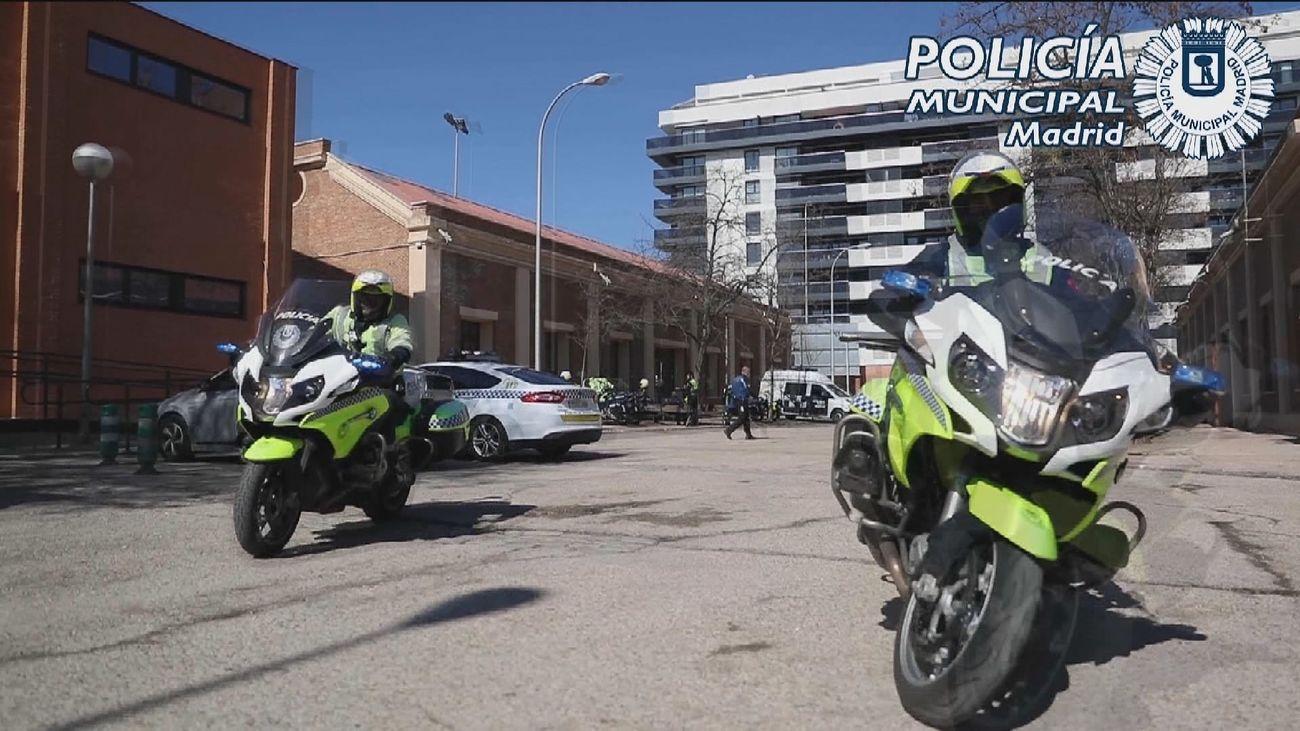 Así trabajan los agentes de la unidad de servicios especiales de la Policía Municipal