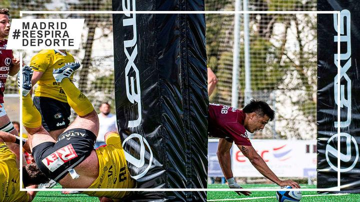 Alcobendas Rugby recupera el liderato con una contundente victoria ante el VRAC