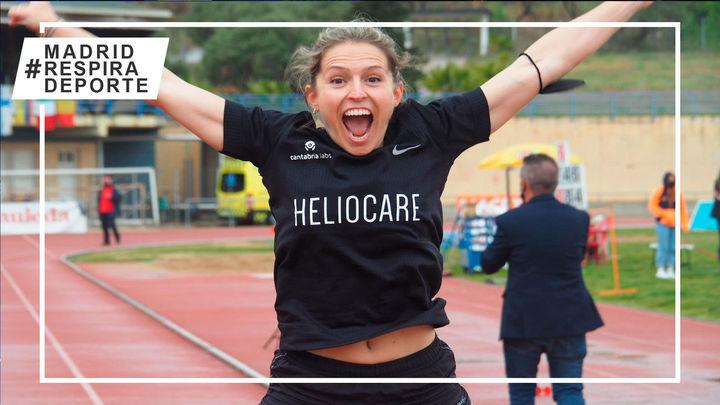 Sara Andrés pulveriza el récord del mundo paralímpico de los 200 metros