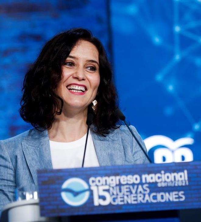 Isabel Diaz Ayuso, el azote de Pedro Sánchez