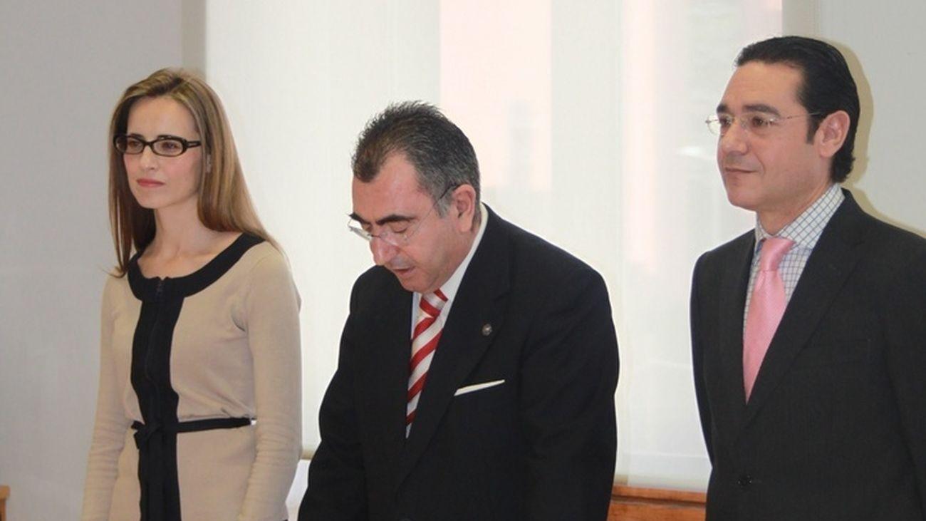 Ana Vanesa Torrente en su toma de posesión como secretaria general de la Consejería de Presidencia de Murcia