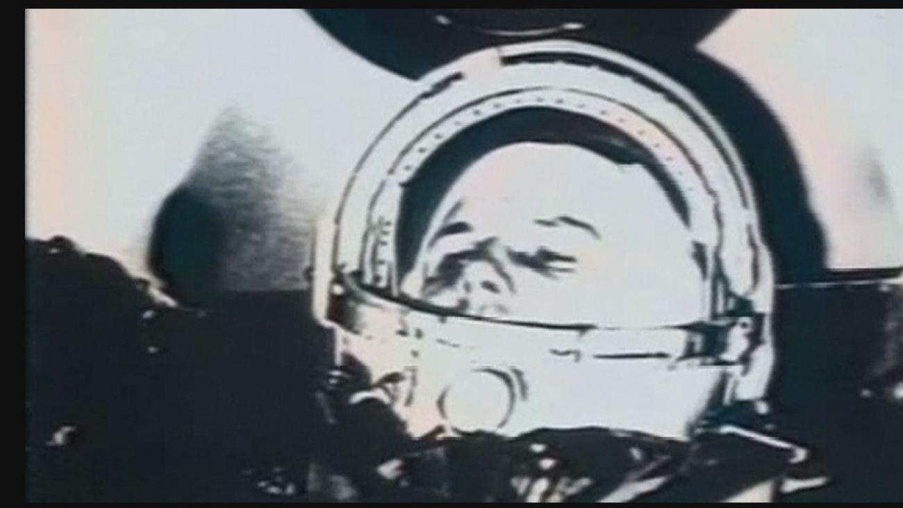 Gagarin se convirtió hace 60 años en el primer humano en el espacio