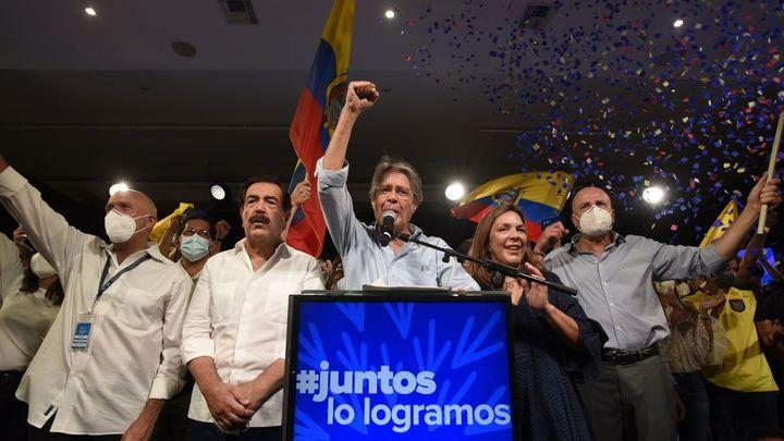 El conservador Guillermo Lasso se impone en las elecciones de Ecuador