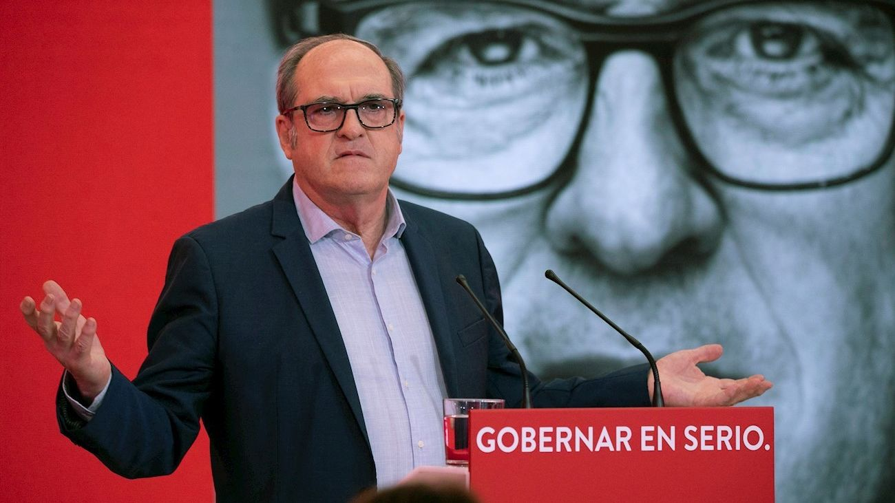 Ángel Gabilondo, candidato del PSOE a la Presidencia de Madrid