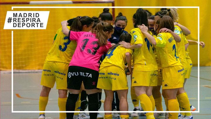 Victorias del Alcorcón y Leganés; derrotas del Móstoles y Majadahonda en la liga femenina de fútbol sala