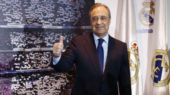 Florentino Pérez, presidente del Real Madrid hasta 2025