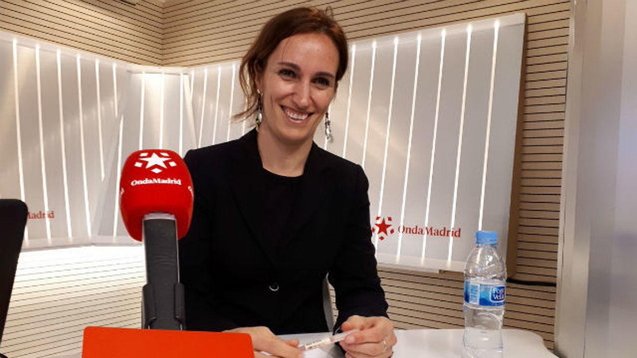 Mónica García, candidata de Más Madrid a la presidencia de la Comunidad de Madrid