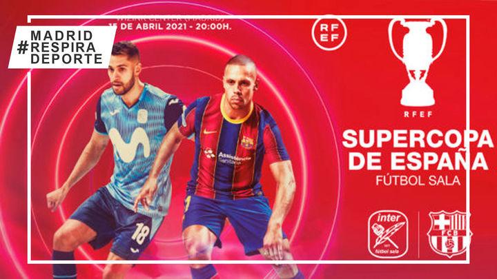 Movistar Inter y Barcelona alzan el telón de la Supercopa