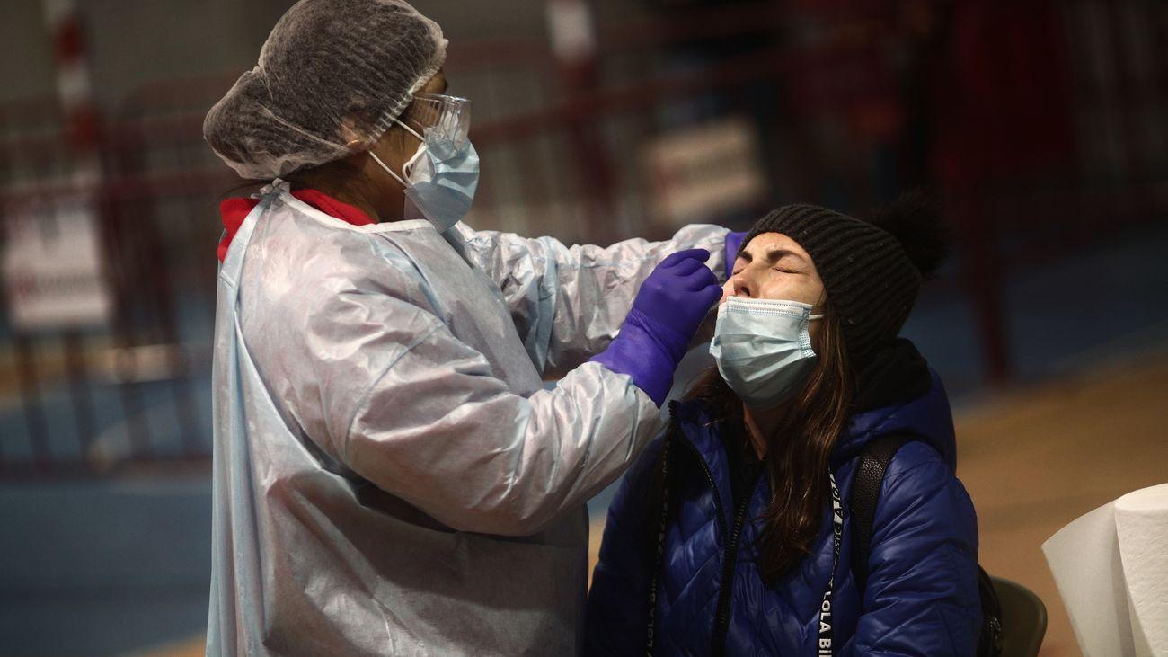 Test de antígenos en Móstoles