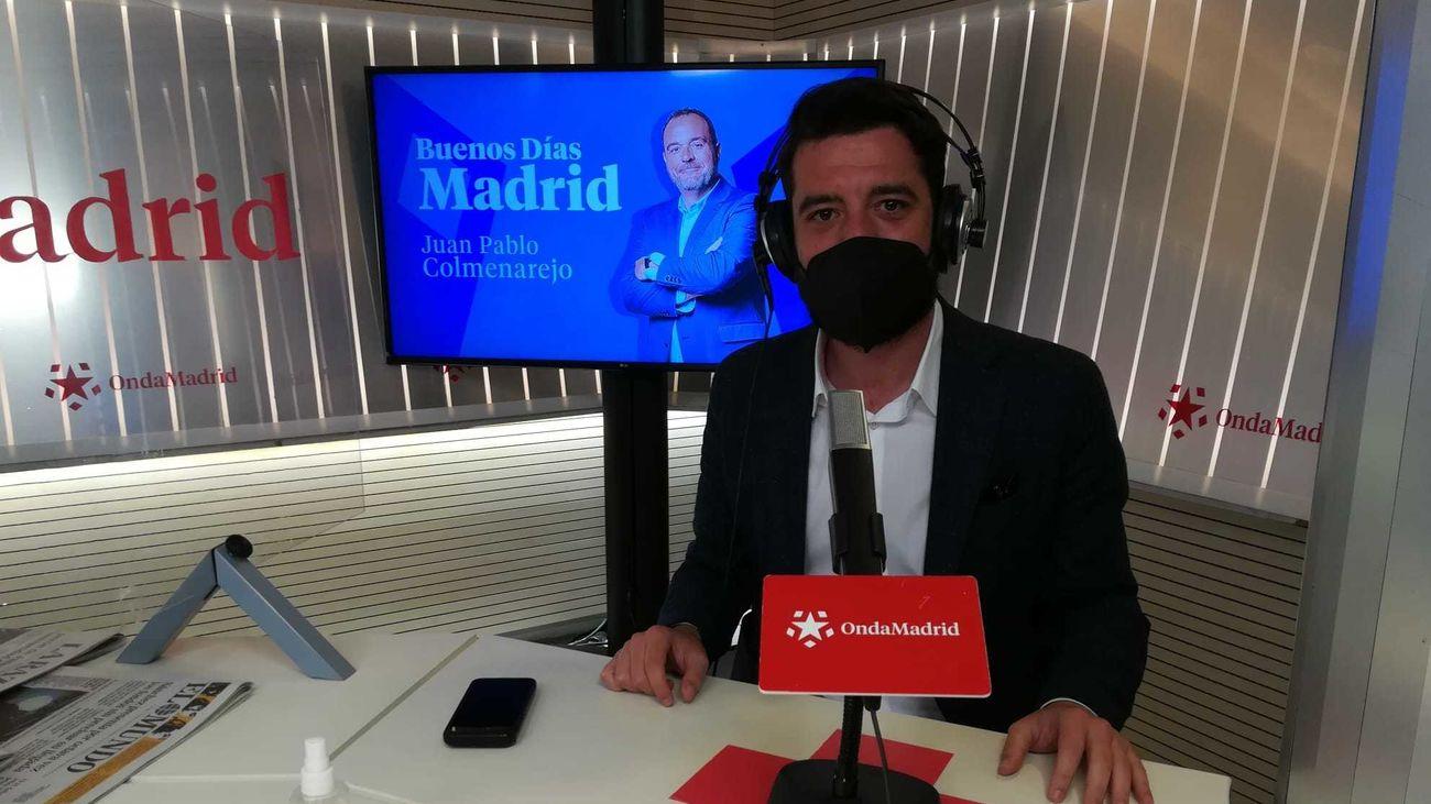 César Zafra, número 3 de la candidatura de Ciudadanos a las elecciones autonómicas del 4M