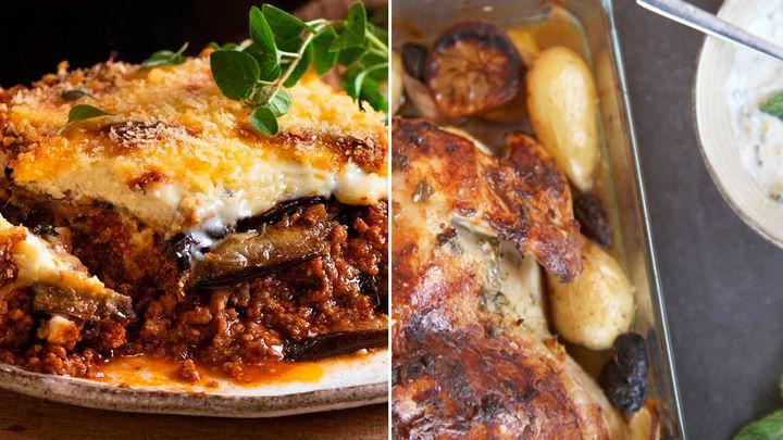 Delicias de Grecia: así se prepara la moussaka y el pollo asado estilo heleno