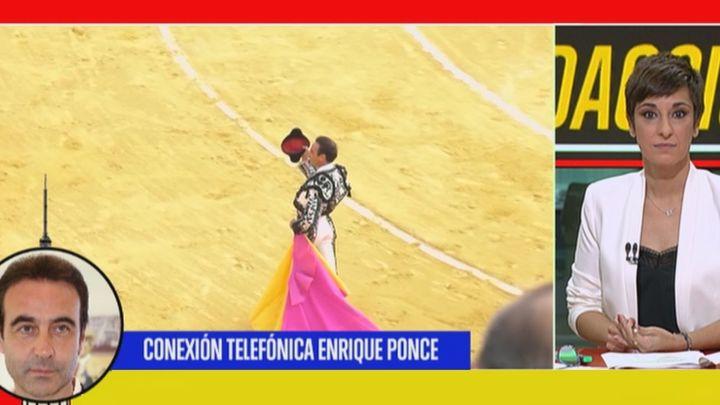"""Enrique Ponce: """"El covid ha afectado mucho a la tauromaquia: la corrida que no se torea, no se cobra"""""""