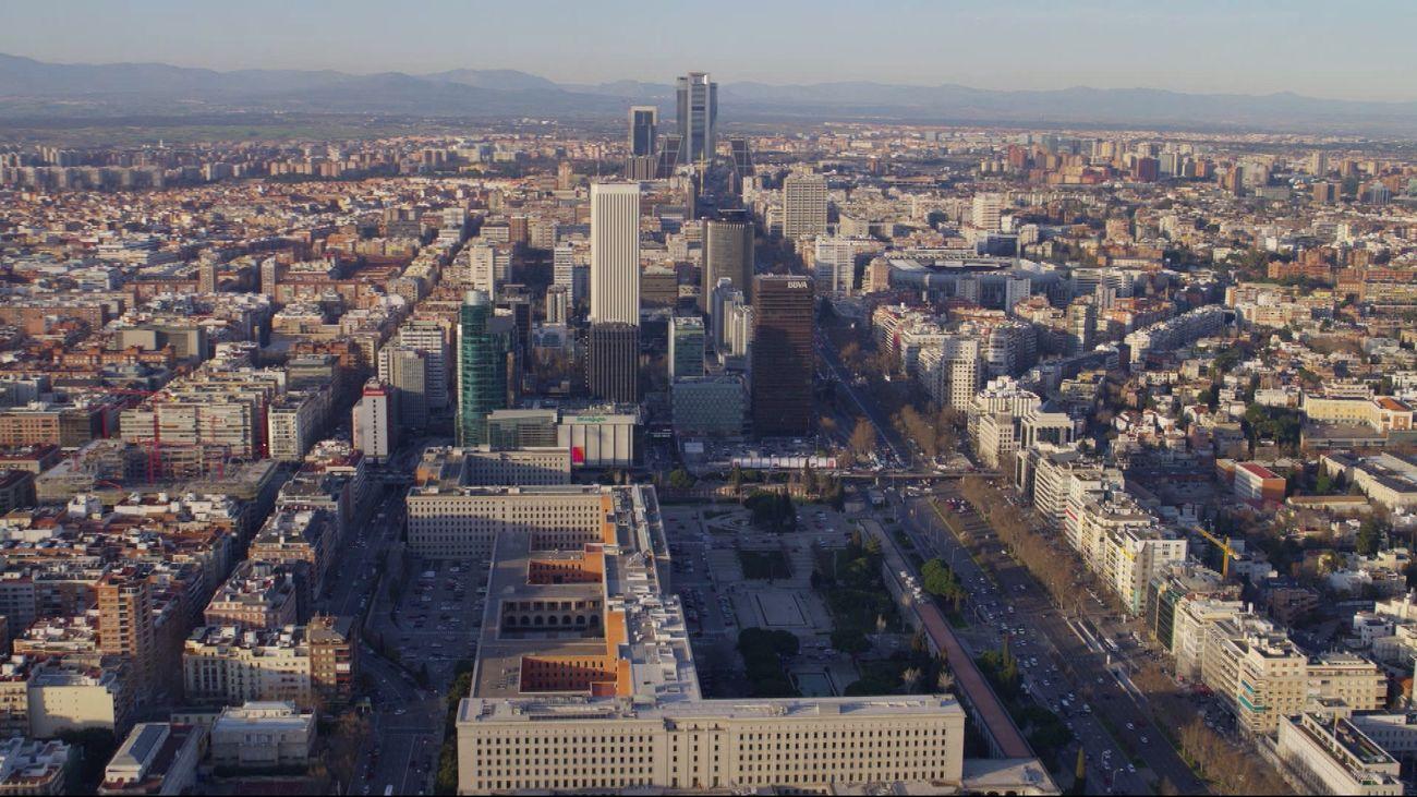 Estos son los edificios más altos de Madrid