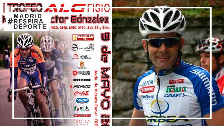 El Trofeo ALG Fisio de Tres Cantos homenajea el 9 de mayo a Víctor González López
