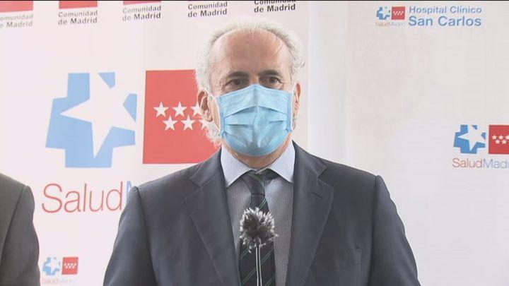 """Ruiz Escudero ve posible un cambio de tendencia """"en unos 10 días"""" respecto a los contagios"""
