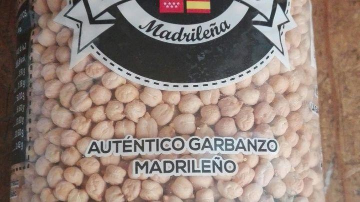 La Comunidad de Madrid obtiene la patente del garbanzo madrileño crujiente