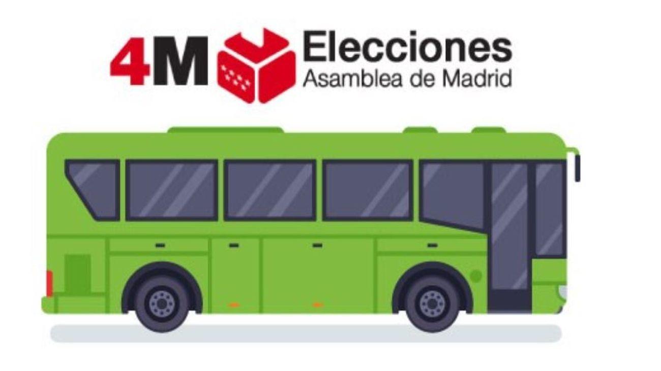 Hoyo ofrece servicio de autobús para que los mayores vayan a votar