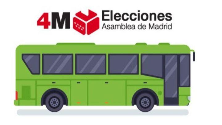 Hoyo ofrece un servicio de autobús para que los mayores vayan a votar