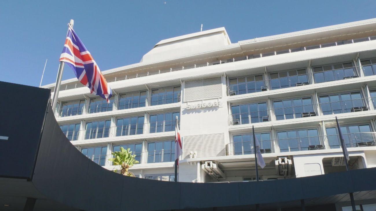 Lujoso yate convertido en hotel en Gibraltar